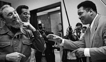 Fidel Castro et Mohamed Ali