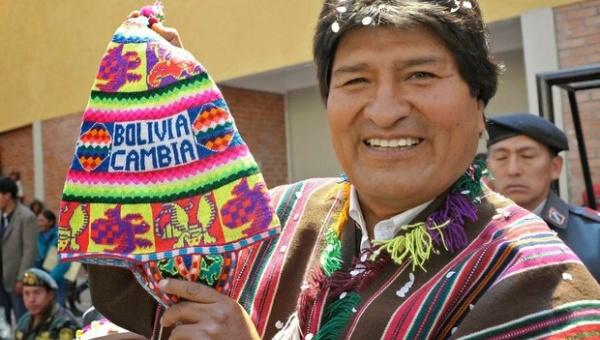 La candidature de Evo Morales se renforce, les forces populaires déterminent les élections en Bolivie dans - DROITS boliviacambia-evomorales-jpeg_1718483346-a62db