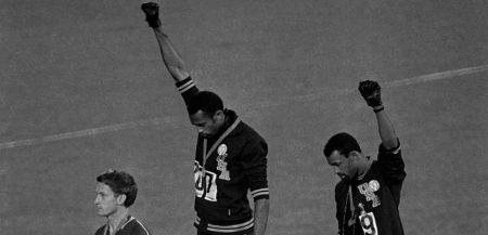 Tommy Smith, John Carlos aux Jeux Olympiques de Mexico en 68