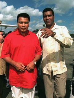 Mohamed Ali et Teofilo Stenvenson