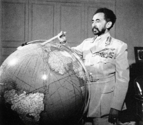 L'empereur Hailé Selassié
