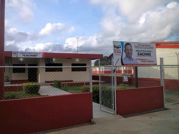 The walk-in clinic in Cachiri visited by a member of the VA team at the end of November - Prensa
