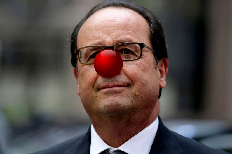 hollande-ass-clown