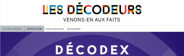 """scénario orwellien : """"Le Monde"""" crée le """"Decodex"""", comme l'Eglise avait son """"Index"""" Decodex-640x196"""