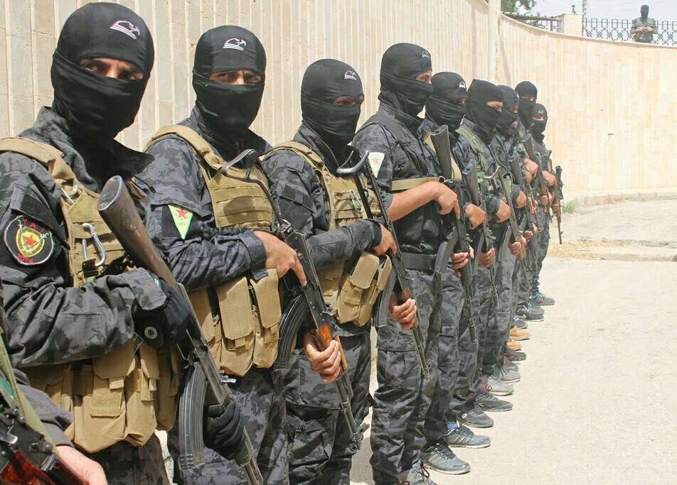 Ypg Fighters To Fight Isis The Us