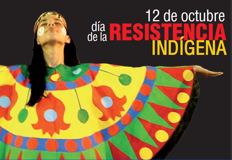 Resultado de imagen para Fotos de Día de la Resistencia Indígena (antes llamado Día de la Raza).