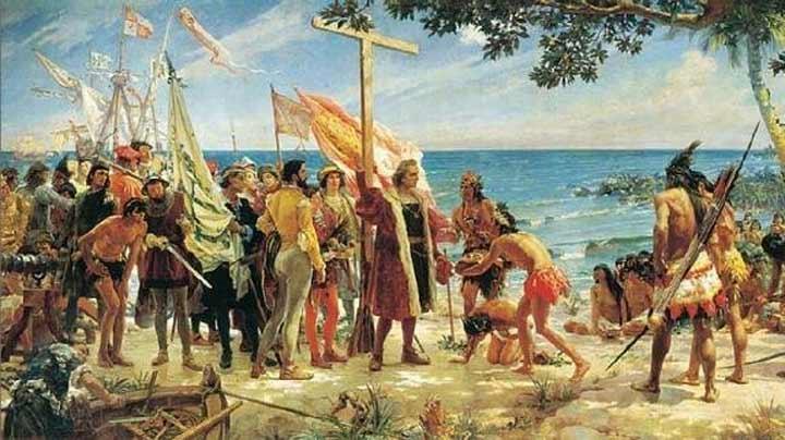 Resultado de imagen de el descubrimiento de américa y la iglesia catolica