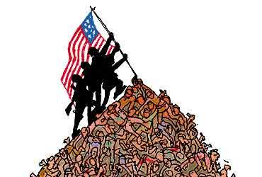 De 1945 à aujourd'hui, entre 20 et 30 millions de personnes tuées par les USA Us-war-crimes