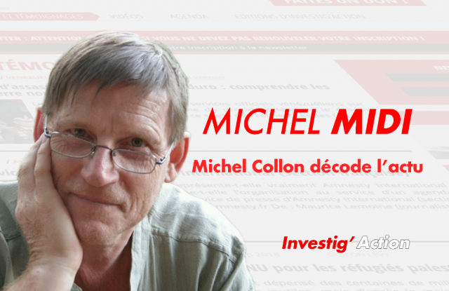 La fessée par Michel Collon: Ou quand on fais enfin du vrai journalisme d'investigation Michelmidi_site-640x415