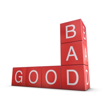 Good versus bad
